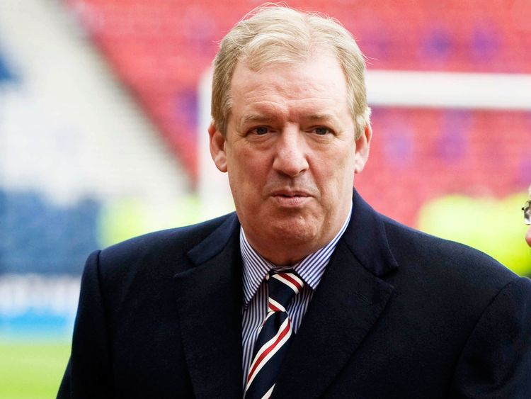 Sir David Murray, former Rangers chairmann