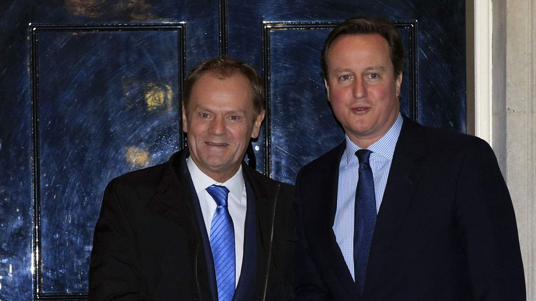 Tusk and Cameron