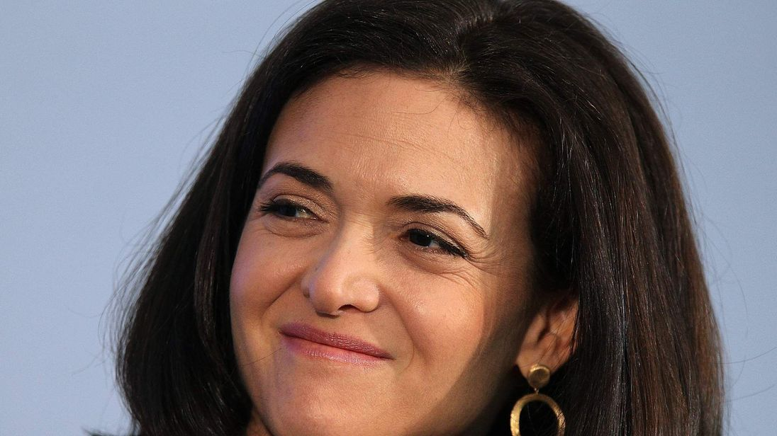 Sheryl Sandberg, CEO of Facebook
