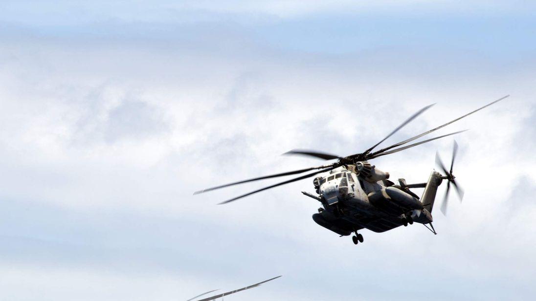 CH-53E Super Sea Stallion helicopters