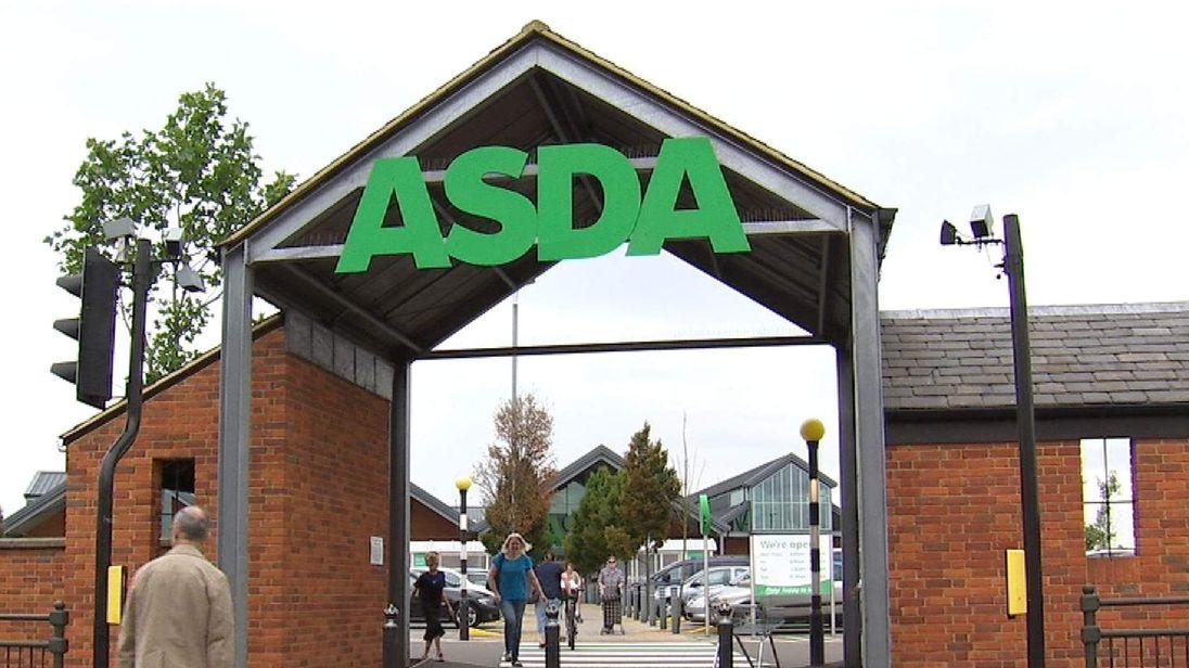 Asda Store Entrance