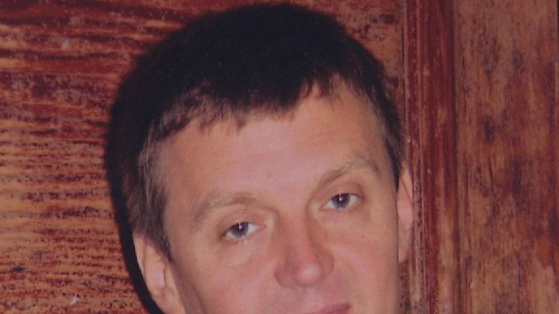 Former KGB agent Alexander Litvinenko