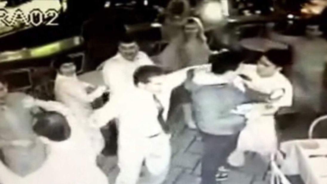 Grissini Restaurant staff mistakenly think they have won the lottery