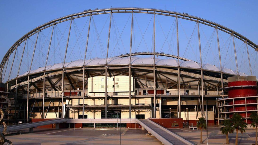 Doha athletics stadium