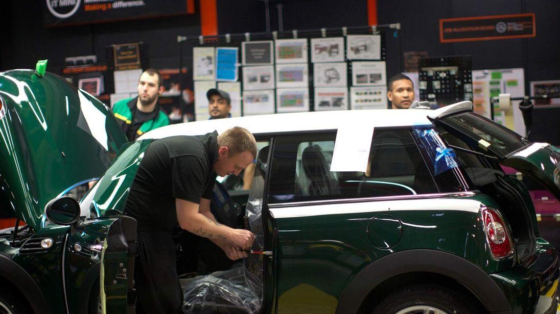 BRITAIN-CAR-BMW-MINI-LAUNCH