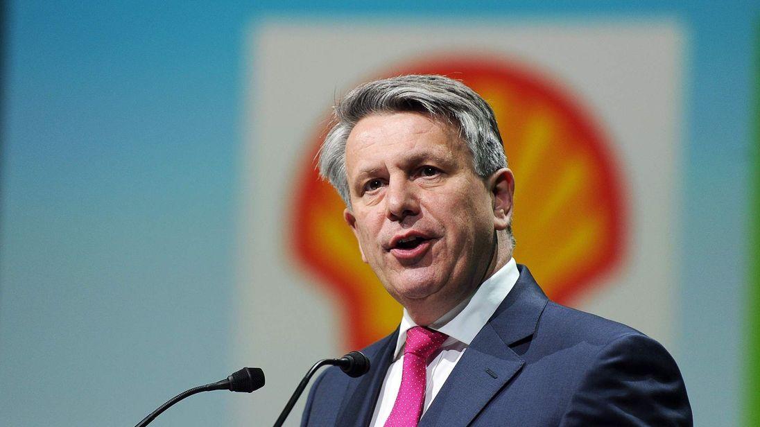 Royal Dutch Shell CEO Ben Van Beurden