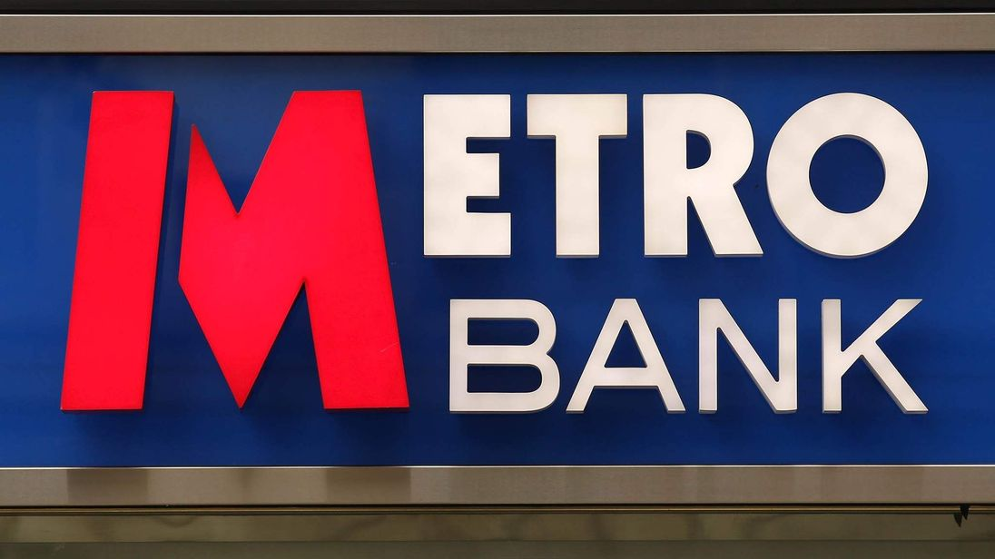 A Metro Bank In Holborn, London