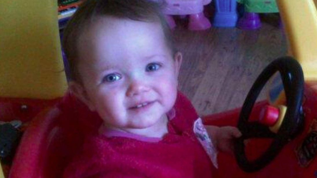 Poppi was found with serious injuries in Barrow-in-Furness in 2012