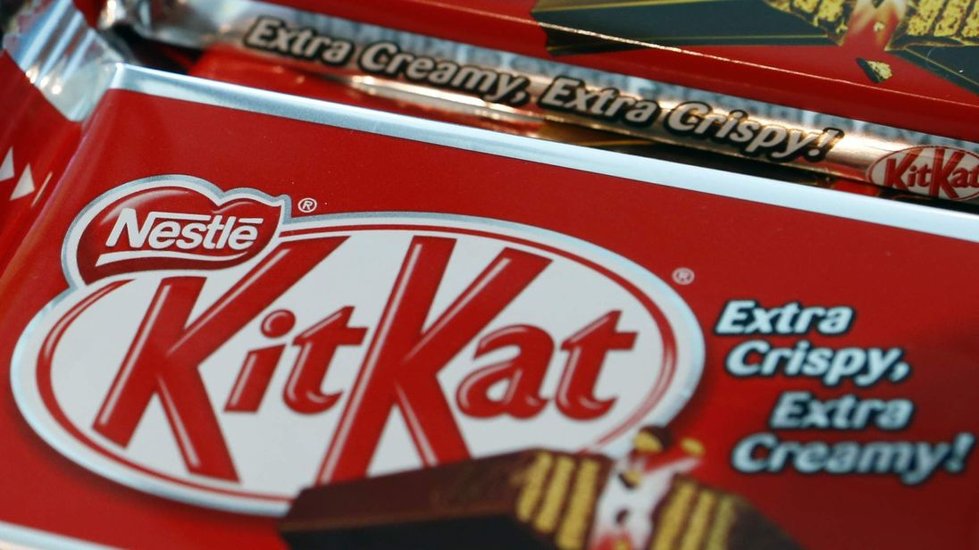 KitKat bars. File pic