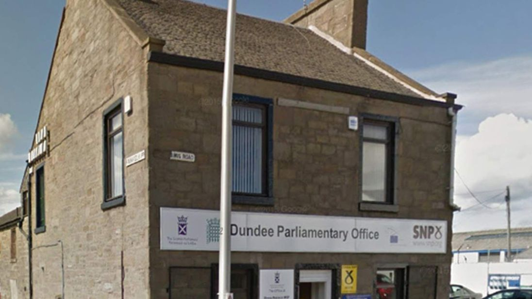 SNP's Dundee parliamentary office