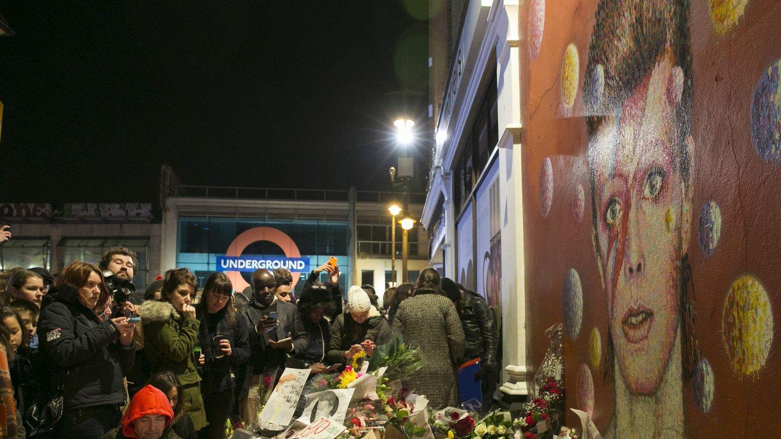 Tributes David Bowie Brixton