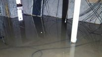 Hotel flooded