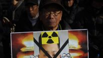 South Korean Protesters Hold Anti-North Korea Rally In Seoul