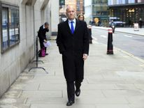 Former Dragons' Den star Doug Richard at the Old Bailey in London