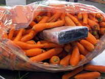 Marijuana disguised as carrots seized on Mexico border