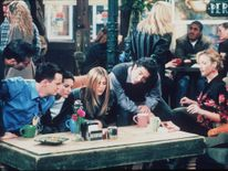 The Friends cast in 1999