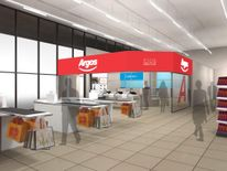 An artist's impression of one of the Argos concessions found in Sainsbury's