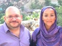 Jason Rezaian and his wife Yeganeh Salehi