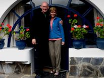 Ian Johnston and Sadie Hartley in Ecuador in 2013.