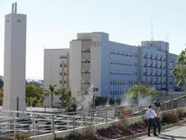 Building 26 is shown at the Naval Medical Center in San Diego