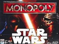 Star Wars Monopoly game