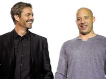 US actors Vin Diesel (R) and Paul Walker