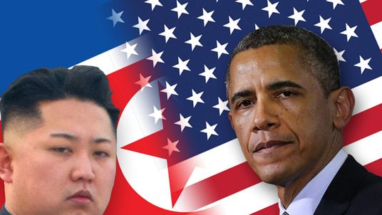 North Korea's leader Kim Jong Un and US President Barack Obama
