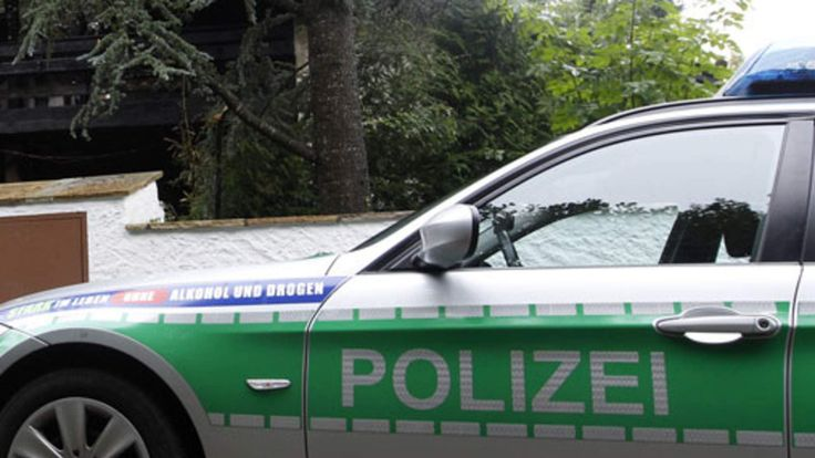 A German police car. File picture