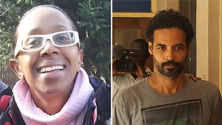 Sian Blake (R) and Arthur Simpson-Kent