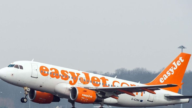 EasyJet plane takes off. File picture