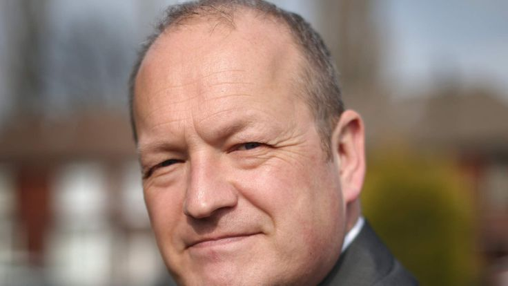 Labour Party Candidate Simon Danczuk Campaigns Ahead Of The General Election