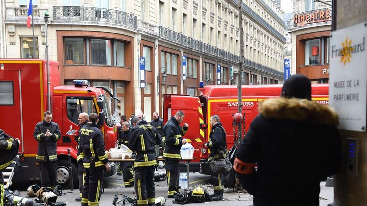 FRANCE-ACCIDENT-FIRE-RITZ