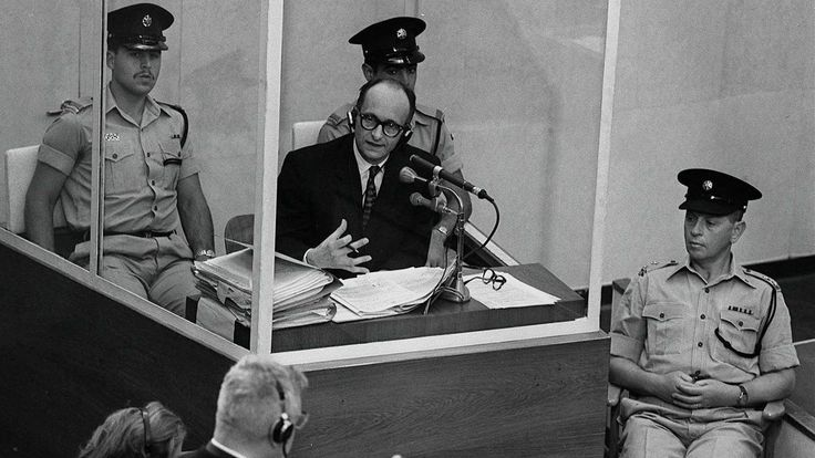 Eichmann's Fingerprints Donated To Yad Vashem Holocaust Memorial