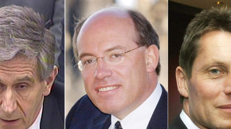 Lord Stevenson, Sir James Crosby and Andy Hornby