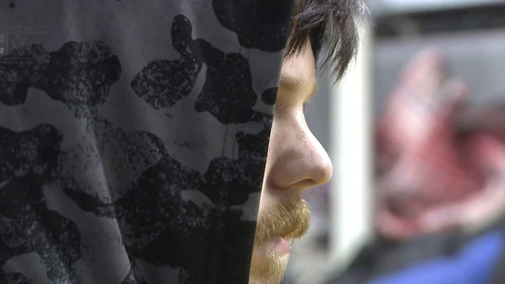 Ethan Couch is seen at Mexico's National Institute of Migration in Mexico City