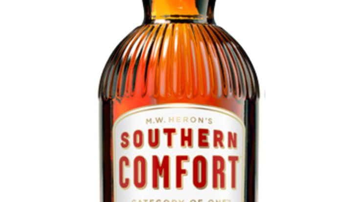 Southern Comfort bottle, image downloaded from Brown-Forman website