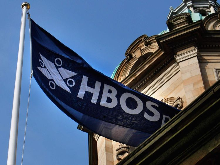 HBOS flag in 2008