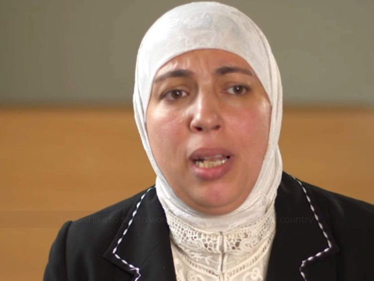 Syrian Woman on NSPCC video telling others not to take their children to Syria