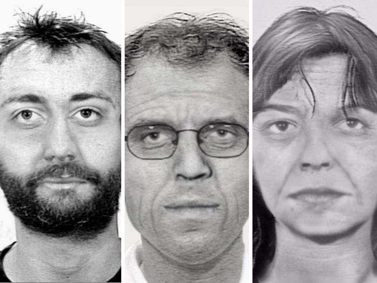 An estimation of what the suspects look like now
