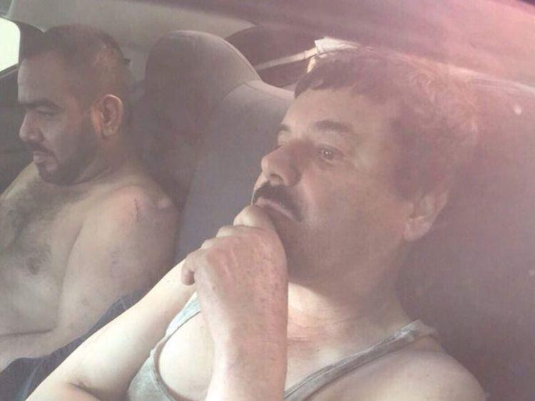 Joaquin Guzman after his re-arrest