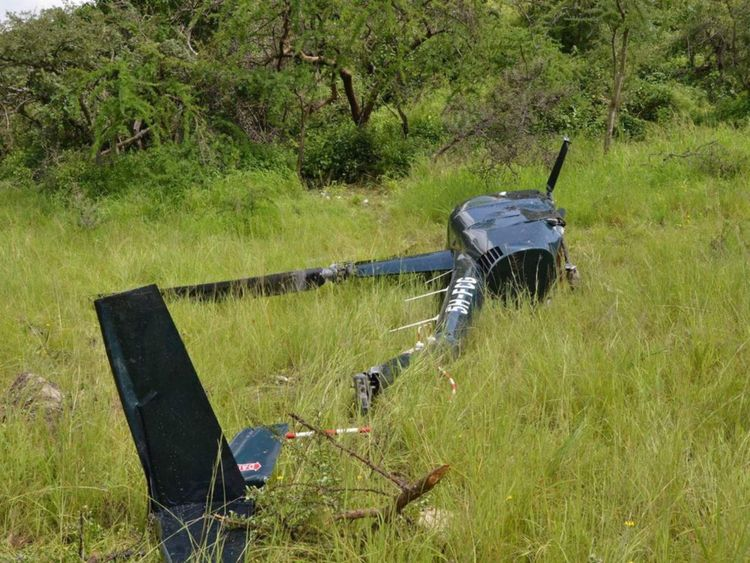 UK Helicopter Pilot Shot By Poachers