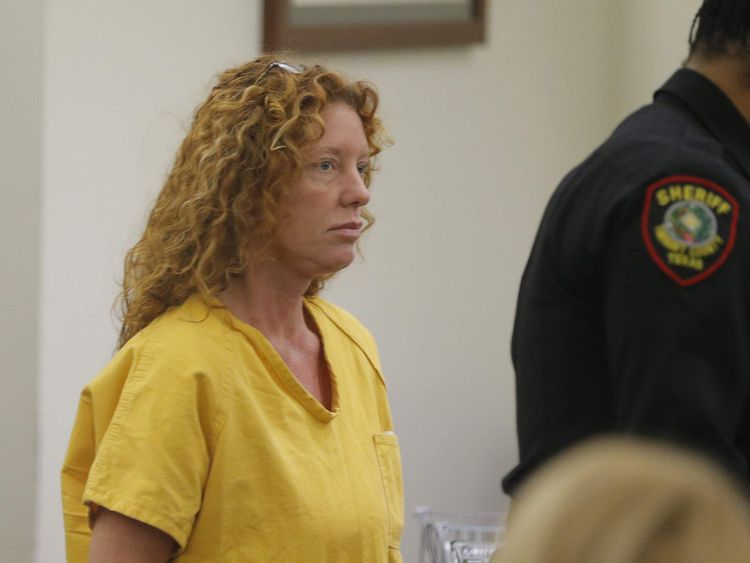 Tonya Couch appears before state District Judge Wayne Salvant in Fort Worth, Texas