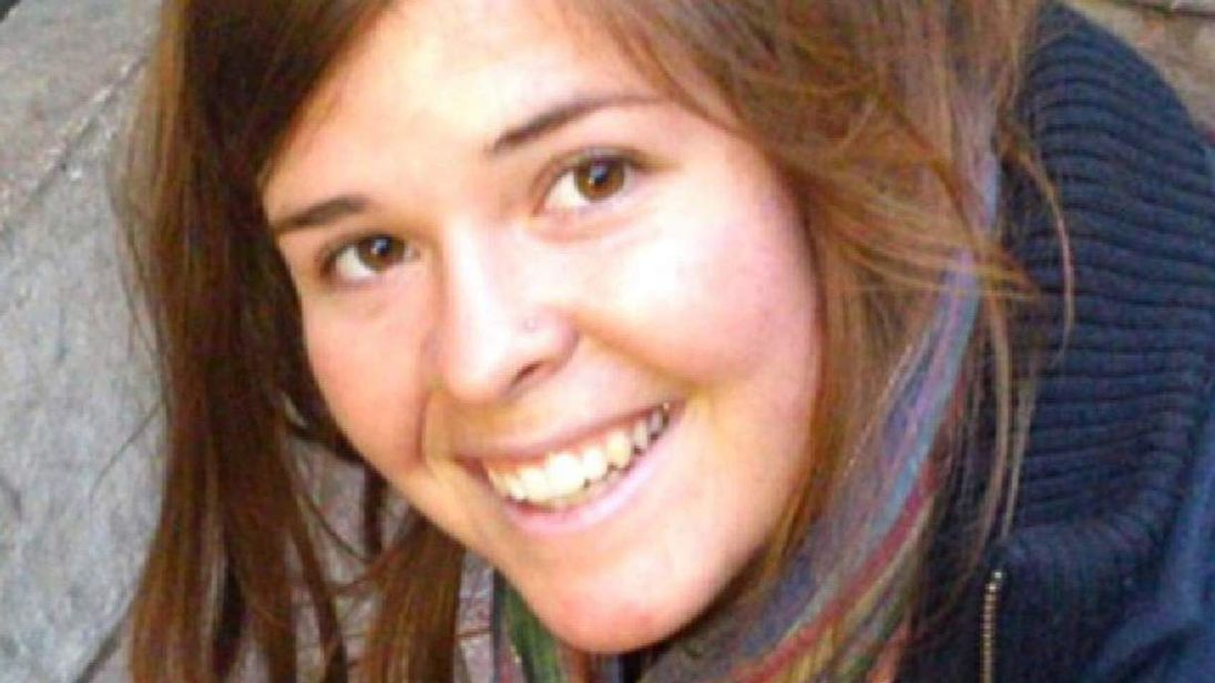 Kayla Mueller 26-year-old American humanitarian worker from Arizona