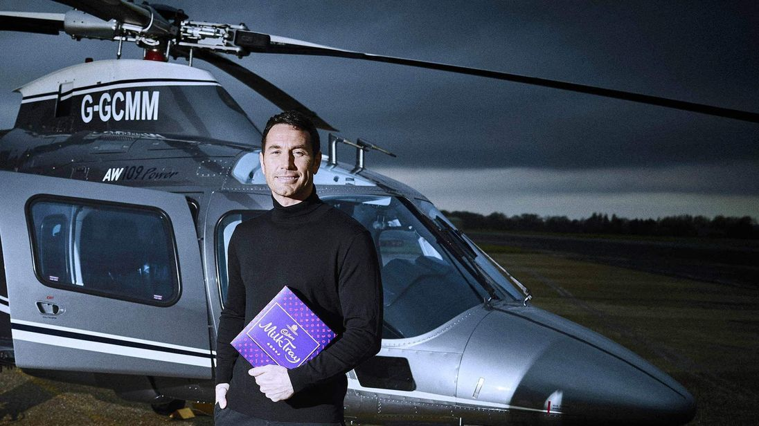 New Milk Tray Man Patrick McBride