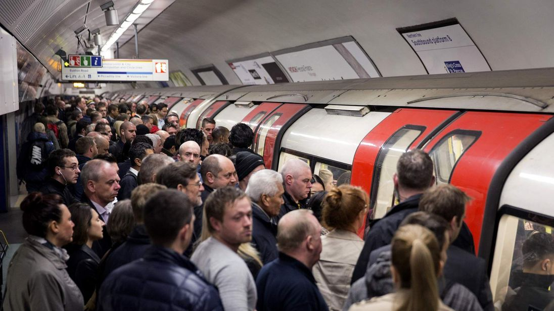 London Underground 48-hour Tube Strike Affects Rush Hour