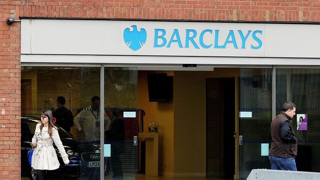 The Swiss Cottage branch of Barclays Bank