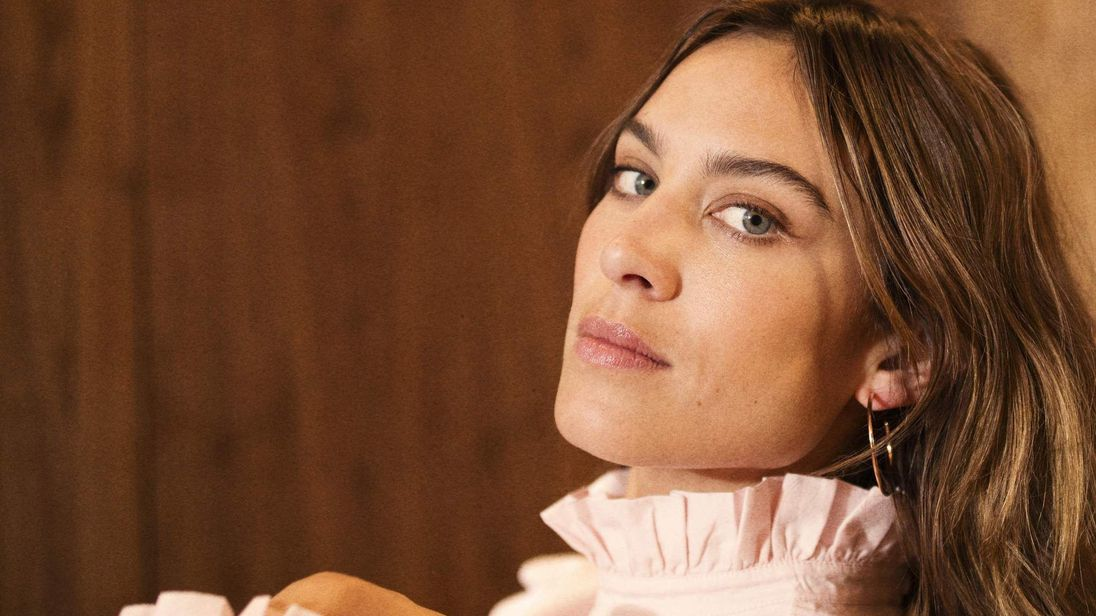 Undated handout photo of Alexa Chung, the new face of M&S