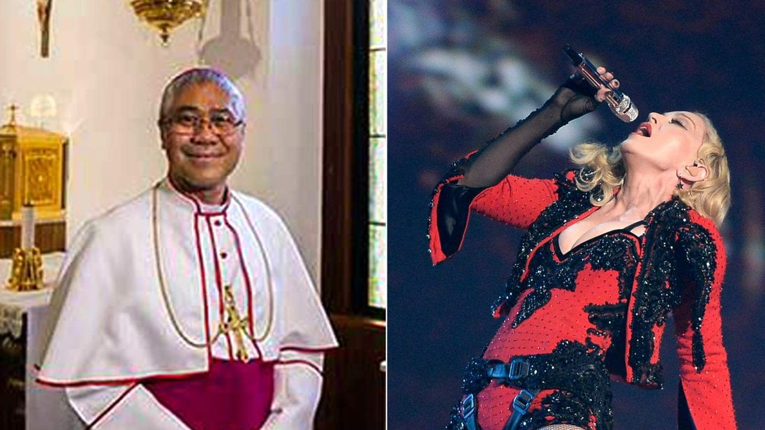Most Rev William Goh Archbishop & Madonna