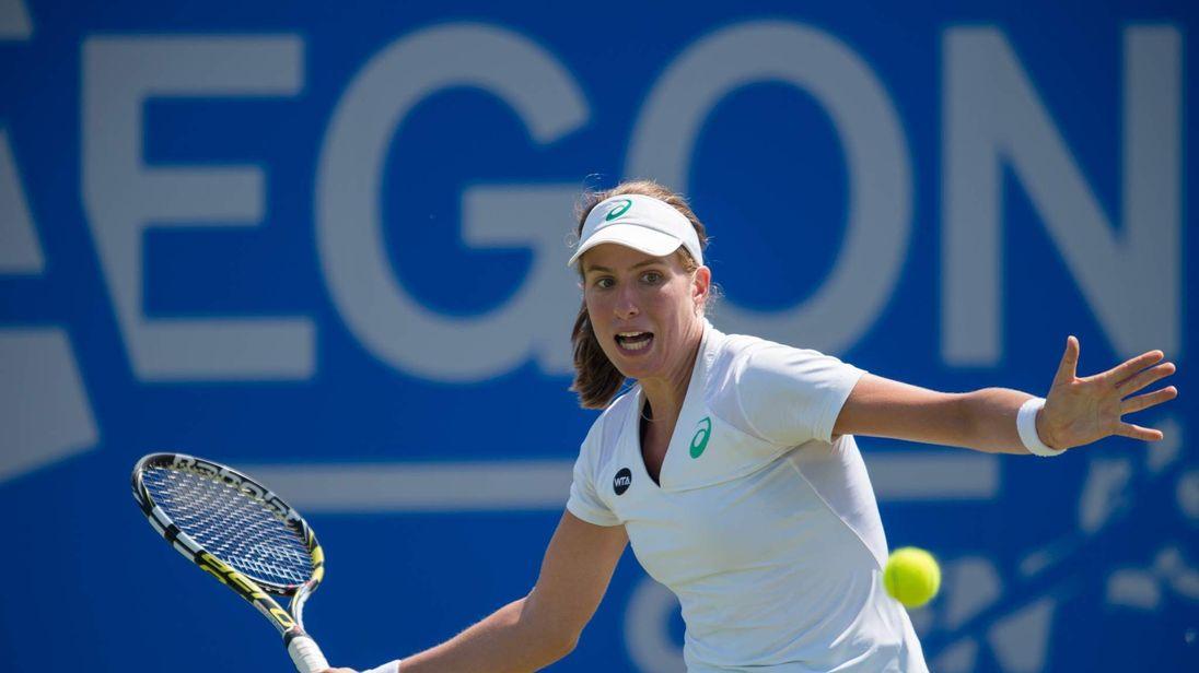 JO KONTA WTA Aegon Open Nottingham - Day Four