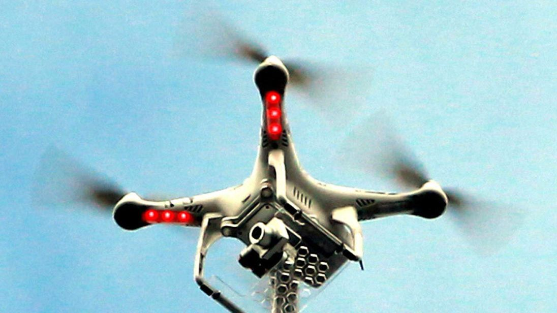 A generic photo of a drone.